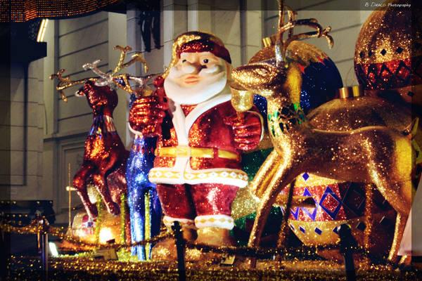 Những hình ảnh đậm chất Giáng sinh được trang trí ở khu vực trung tâm thành phố. Ảnh: B Draco