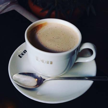 Cà phê ở quán Don thơm ngon và hợp với khẩu vị người Việt.