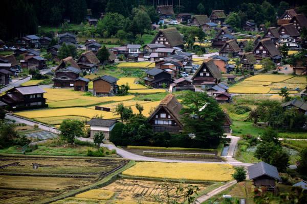 Ngôi làng cổ xinh đẹp này cũng chính là nơi tác giả Fujiko Fujio sáng tác những tập đầu tiên của bộ truyện tranh Đôrêmon nổi tiếng. Năm 1995, làng Shirakawa được biết đến nhiều hơn khi UNESCO công nhận là Di sản văn hóa Thế giới. Ảnh: sakura_chihaya+