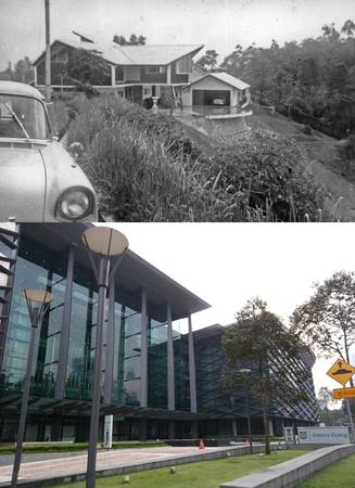 Đồi Kenny nay là Bukit Tunku - khu chung cư cao cấp ở Kuala Lumpur.