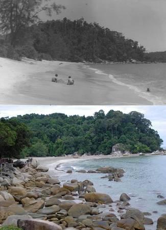 Bãi biển Chempedak, thành phố Kuantan.