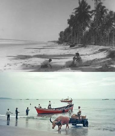 Bãi biển Beserah, thành phố Kuantan.