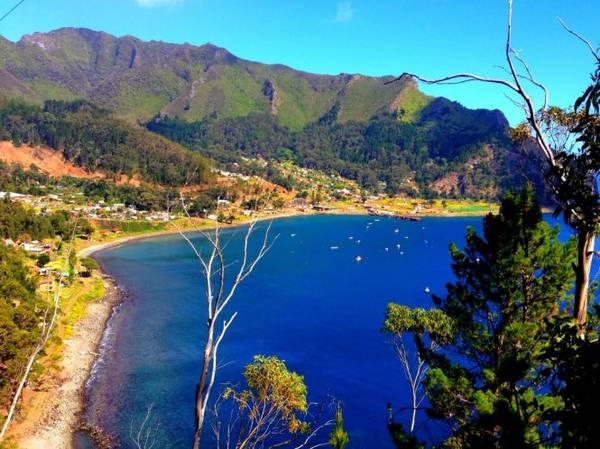 Một góc đảo Robinson Crusoe - Ảnh: leeabbamonte