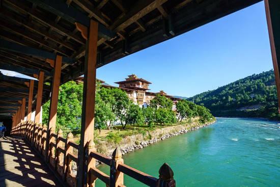 Tu viện Punakha. Ảnh: Nguyễn Thanh Hải