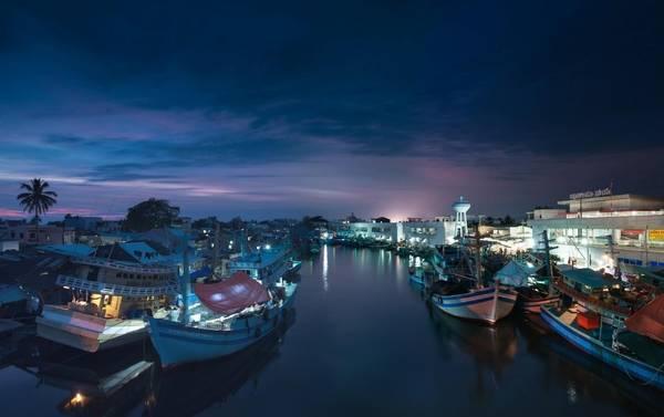 Tĩnh lặng đêm Phú Quốc. Ảnh: Dan Nguyen