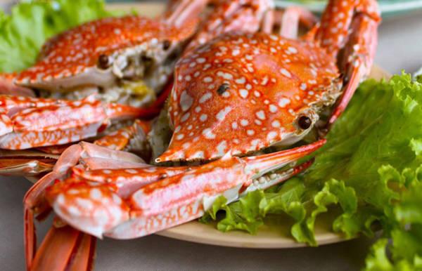 Khách đến Phú Quốc đều không thể bỏ qua món ghẹ luộc hấp dẫn. Ảnh: vietq.vn