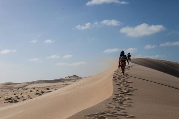 Những cồn cát cao vút - Ảnh: flickr