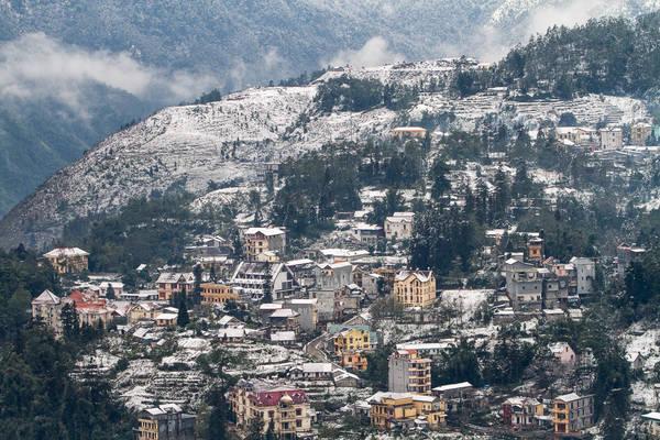 Khung cảnh Sapa tuyệt đẹp tựa như một thành phố ở châu Âu nào đó. Ảnh: wikipedia.org