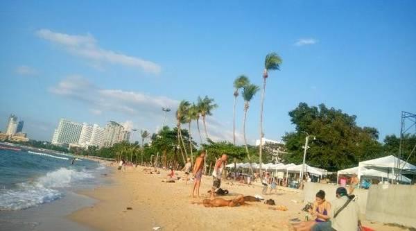 Bãi biển Pattaya, Thái Lan.