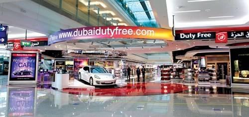Dubai Duty Free tăng doanh thu đáng kể.