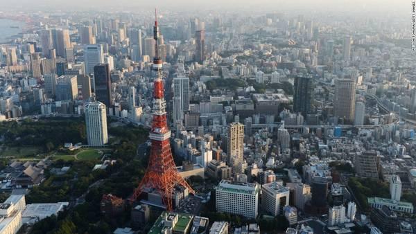 <strong>25. Tokyo, Nhật Bản</strong> – Tokyo xếp vị trí thứ 25 tuổi trong danh sách này với 5,99 triệu lượt du khách.