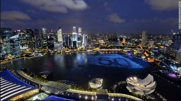 <strong>3. Singapore</strong> - Với 17,09 triệu lượt khách, Singapore đứng thứ 3 trong danh sách này.