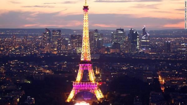 5. Paris, Pháp - Thành phố ánh sáng Paris đứng vị trí thứ 5 trong bảng xếp hạng với số lượng du khách đạt khoảng 14,98 triệu lượt.