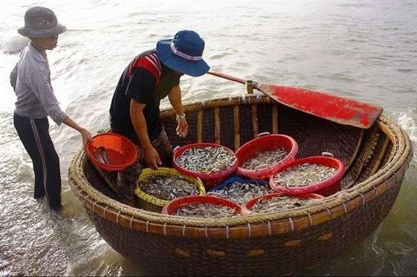 Tại đây, bạn có thể thưởng thức hải sản tươi sống mua tại các thuyền chài lúc vừa cập bến với giá rẻ. Ảnh: ST