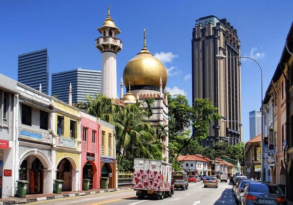 Kampong Glam là một khu vực nổi tiếng và cổ kính ở Singapore, được đặt theo tên của loài cây Glam đã từng được trồng ở khu vực này, hơn nữa Kampong Glam cũng từng là một địa điểm lịch sử quan trọng của Hoàng gia Malay ở Singapore. Ảnh: flickr.com