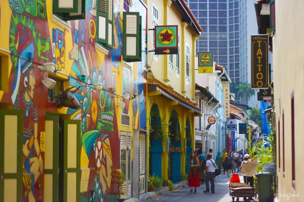 Bạn trẻ mê phong cách, thời trang thì nhất định sẽ đến thăm khu phố này. Haji lane là khu vực được chính phủ Singapore quy hoạch để mang đến một trải nghiệm mới cho khách du lịch, đặc biệt là các vị trách trẻ cá tính và có gout ăn mặc. Ảnh: Eugene