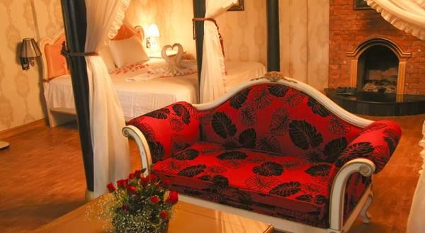 Phòng nghỉ sang trọng, ấm cúng.