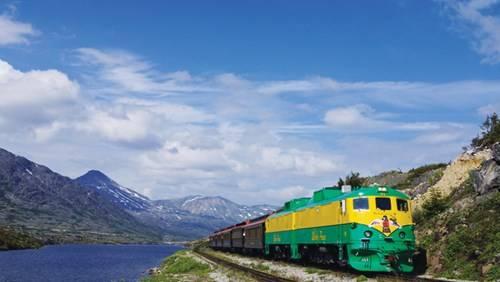 Xe lửa đi tới Yukon, vùng đất mỏ vàng
