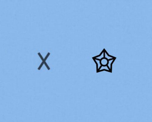 Sở cảnh sát: thay vì chữ X như trước thì biểu tượng mới có vẻ dễ hình dung hơn. Ảnh: Fastcodesign.
