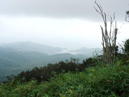 Cảnh đẹp hữu tình nhìn từ đỉnh Núi Chúa. Ảnh: vqgnuichua.