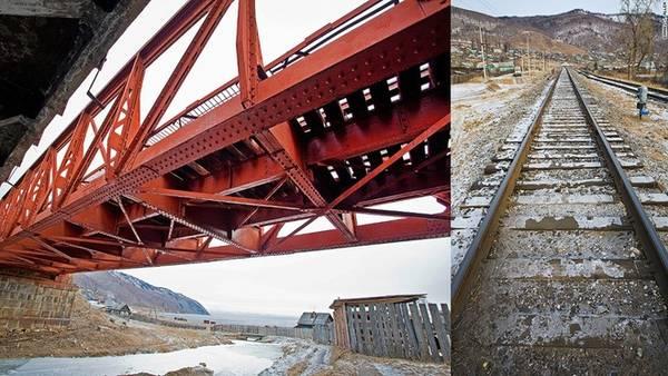 """Con đường lâu đời: Một đường tàu tạm thời được bắc qua vùng băng dày của hồ trong suốt năm 1904, thời gian diễn ra chiến tranh Nga - Nhật. Khi tuyến đường Circum - Baikal hoàn thiện, nó hợp cùng với tuyến chạy từ Moscow tới bờ biển Thái Bình Dương. Được mệnh danh là """"khóa vàng trên chiếc đai sắt của Nga"""", tuyến đường Circum-Baikal cũng là một kiệt tác về kỹ thuật xây dựng của xứ sở bạch dương."""