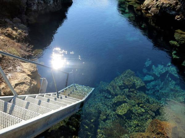 Đường xuống Silfra - Ảnh: worldadventuredivers