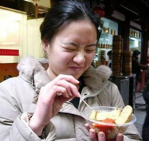 Ngửi từ xa thôi đã nghe mùi thối, khi ăn thì... chỉ biết nhăn mặt. (Ảnh: Internet)