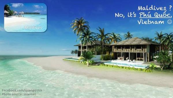 Maldives? Không, là Phú Quốc.