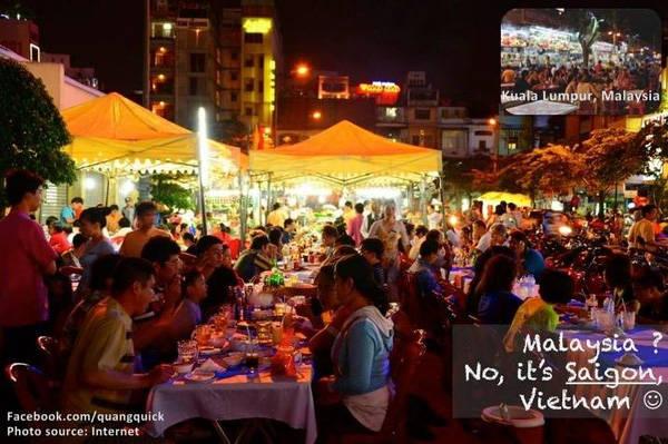 Malaysia đây à? Không phải, là Sài Gòn đấy.