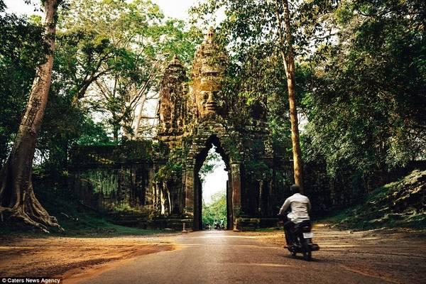 Campuchia là quốc gia rất thích hợp cho chuyến du lịch bụi nước ngoài lần đầu tiên. Ảnh: dailymail