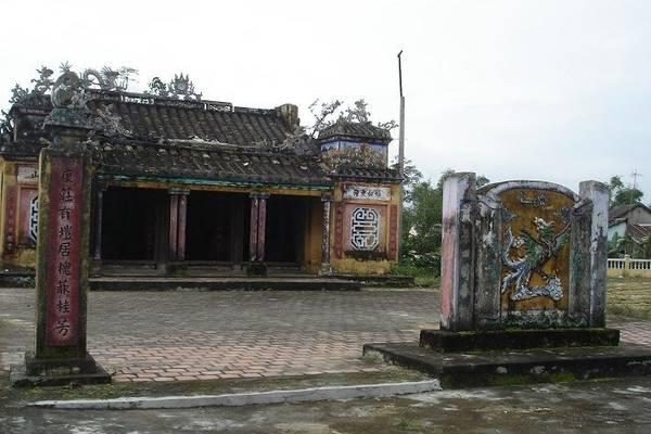 Đình làng Túy Loan. Ảnh: ST