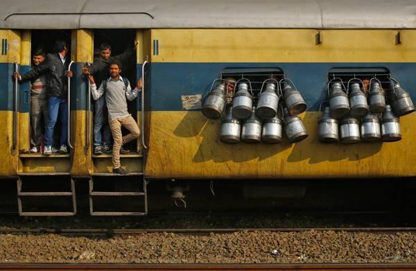 Venkatanarasimharajuvaripeta là nhà ga có tên dài nhất ở Ấn Độ. Ảnh: Anindito Mukherjee / Reuters