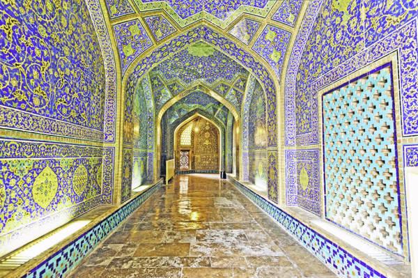 Bên trong đền thờ Sheikh Loftollah ở Isfahan - Ảnh: Shutterstock