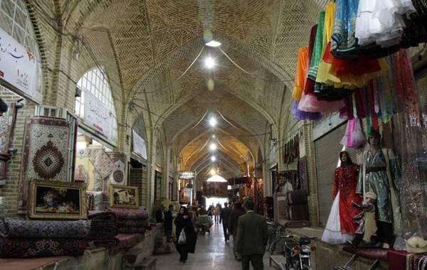 Chợ Bazaar-e Vakil ở Shiraz - Ảnh: wp