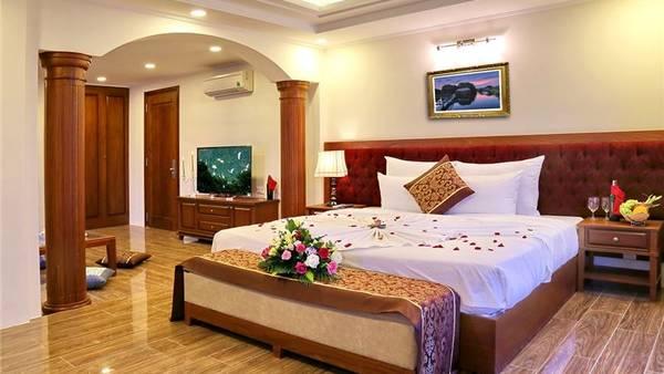 Khách sạn Apus Nha Trang đạt 3 sao tiêu chuẩn quốc tế. Ảnh: iVIVU.com