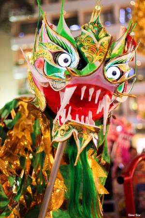 Múa lân ở Sài Gòn trong những dịp lễ hội.
