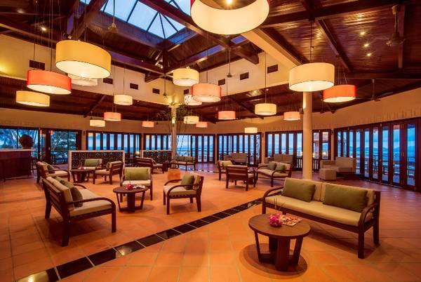 Không gian ấm cúng tại Lá Giang Restaurant & Bar. Ảnh: victoriahotels.asia