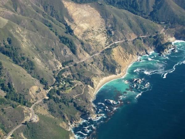 PCH nổi tiếng là một xa lộ huyền thoại ở bang California - Ảnh: panoramio