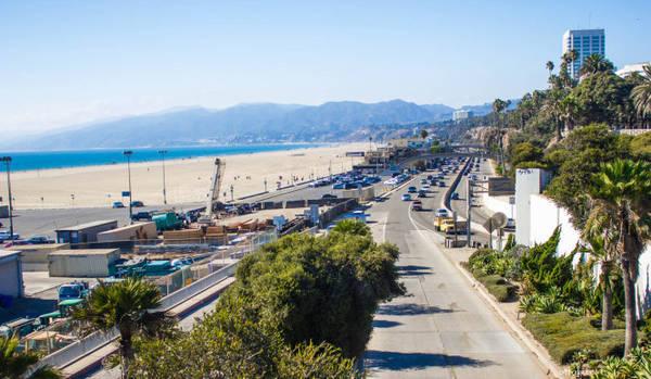 quy Tuyến đường đi qua thành phố biển Santa Monica - Ảnh: wp