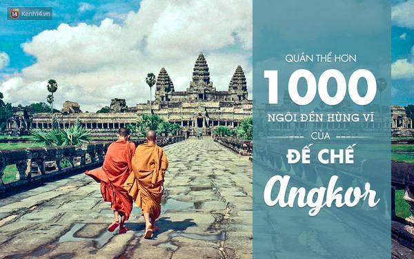 Đến Campuchia, không thể không đi thăm vô số chùa chiền, đền miếu trong quần thể Angkor. Rồi bạn sẽ thấy, phải có lý do thì Campuchia mới trở thành một trong những quốc gia Phật Giáo lớn và tôn nghiêm nhất thế giới.