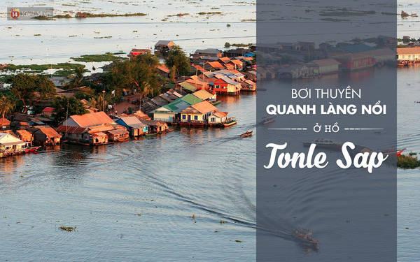 Còn được gọi là biển Hồ, đây được xem là nơi tập trung khá nhiều người Việt. Không khác gì khung cảnh miền Tây sông nước, ở đây, bạn có thể trải qua cảm giác được bơi thuyền quanh làng nổi, ngắm nhà cửa và con người bình lặng xung quanh. Biển hồ còn được UNESCO công nhận là khu dự trữ sinh quyển thế giới hồi năm 1997.