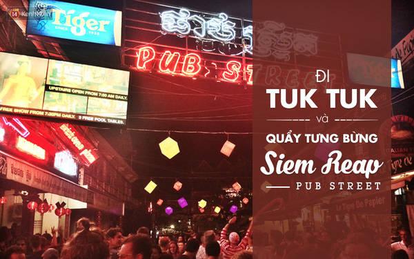 Nếu vẫn chưa quẩy hết mình ở Sihanouk, thì hãy ghé qua chợ đêm ở Siem Reap và quẩy cùng khách du lịch ở đây. Trải nghiệm không khác gì Bùi Viện đâu ạ, có khi còn vui hơn rất nhiều!