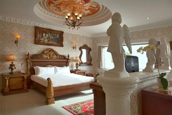 Phòng nghỉ với nội thất sang trọng.