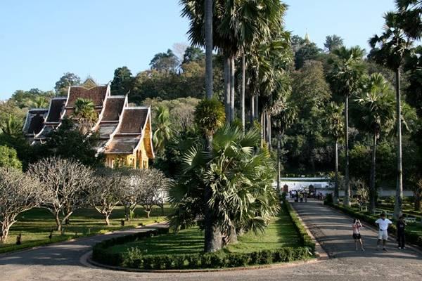 Viện bảo tàng Quốc gia Luang Prabang (trước đây là Cung điện Hoàng gia). Ảnh: Leti.ru.