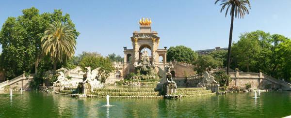 Đài nước Cascada ở công viên Ciutadella - Ảnh: wp