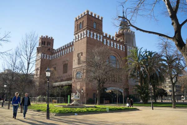 Pháo đài Castell dels Tres Dragons, một tác phẩm của nhà kiến trúc danh tiếng Domenech trong công viên Ciutadella - Ảnh: wp