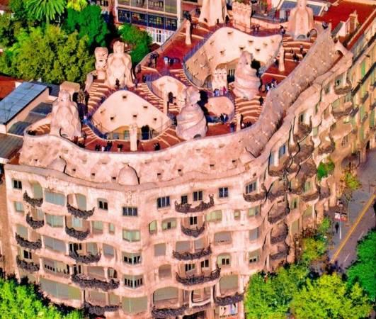 Tòa nhà Casa Mila - Ảnh: wp