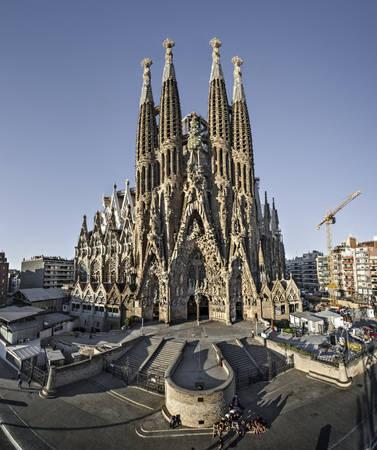 Nhà thờ Sagrada Família - Ảnh: wiki