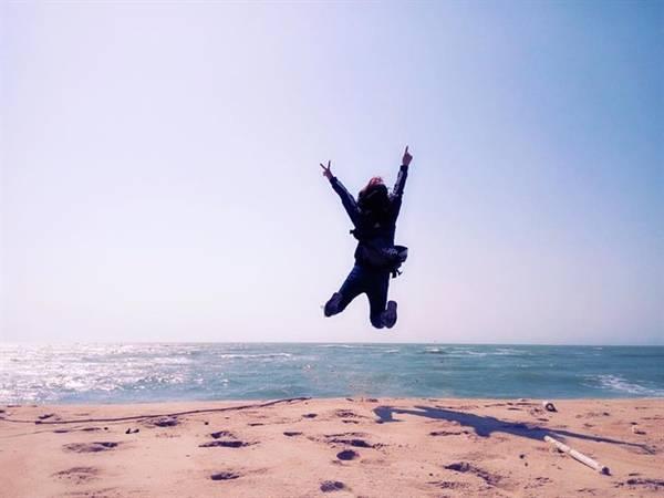 Biển Suối Ồ là một trong những bãi biển hiếm hoi ở Việt Nam vừa có nước ngọt và nước mặn. Ảnh: ST