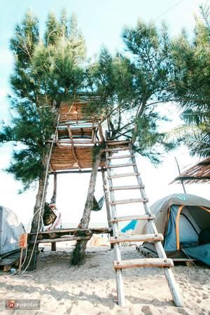 Đây chính là ngôi nhà trên cây được rất nhiều người thích vì là điểm có góc nhìn đẹp nhất trên bãi biển.Ảnh: Kenh 14